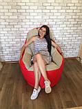 Кресло мешок, бескаркасное кресло, мягкий пуф, кресло BOSS ХХЛ, Производство, фото 2