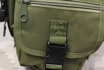 Тактическая универсальная (набедренная) сумка на бедро Swat Olive ( 300-olive), фото 2