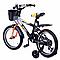 Детский 2-х колесный велосипед.Детский транспорт велосипеды.Детский велосипед 16 дюймов., фото 2