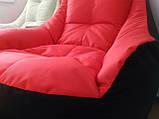 Кресло мешок, бескаркасное кресло, мягкий пуф, кресло BOSS ХХЛ, Производство, фото 3