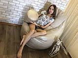 Кресло мешок, бескаркасное кресло, мягкий пуф, кресло BOSS ХХЛ, Производство, фото 7