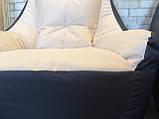 Кресло мешок, бескаркасное кресло, мягкий пуф, кресло BOSS ХХЛ, Производство, фото 8