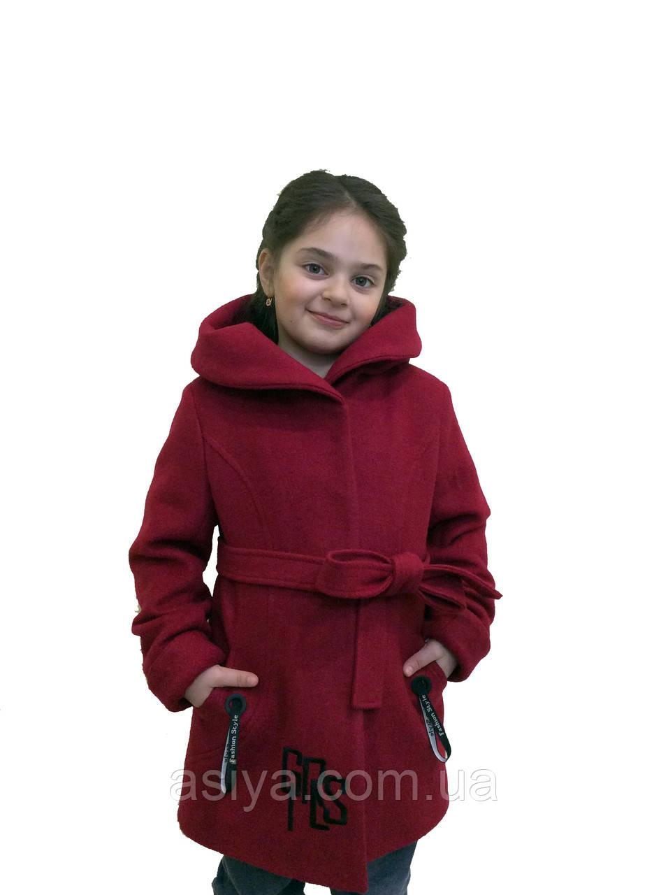 """Шерстяное подростковое пальто - """"Girls"""""""