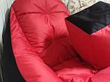 Крісло мішок, безкаркасне крісло, м'який пуф, крісло BOSS ХХЛ, Виробництво, фото 8