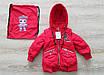 Куртка демисезонная на девочку интернет магазин  20-28 голубой, фото 4