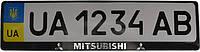 3D-рамки для номерных знаков Mitsubishi