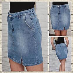 Джинсовые юбки оптом от производителя Турция