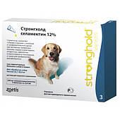 Капли для собак 20-40кг стронгхолд Stronghold селамектин 12% / 2 мл х 3 пипетки