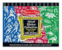 Набор вельветовых наклеек для мальчиков Melissa&Doug (MD4236)