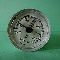 Термометр капиллярный d=40мм. t=120°,Lкап=1м. Pakkens