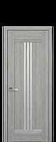 Межкомнатные двери Рейс со стеклом сатин Дуб сицилия