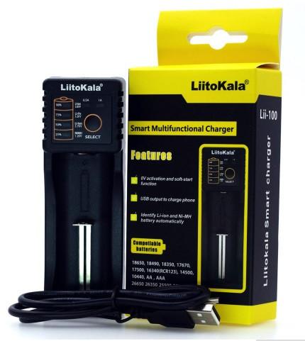 Зарядное устройство  повербанк LiitoKala Lii 100