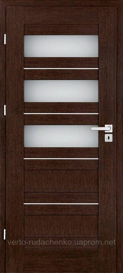 Двери EcoDoors Terra 4 в цвете Дуб темный