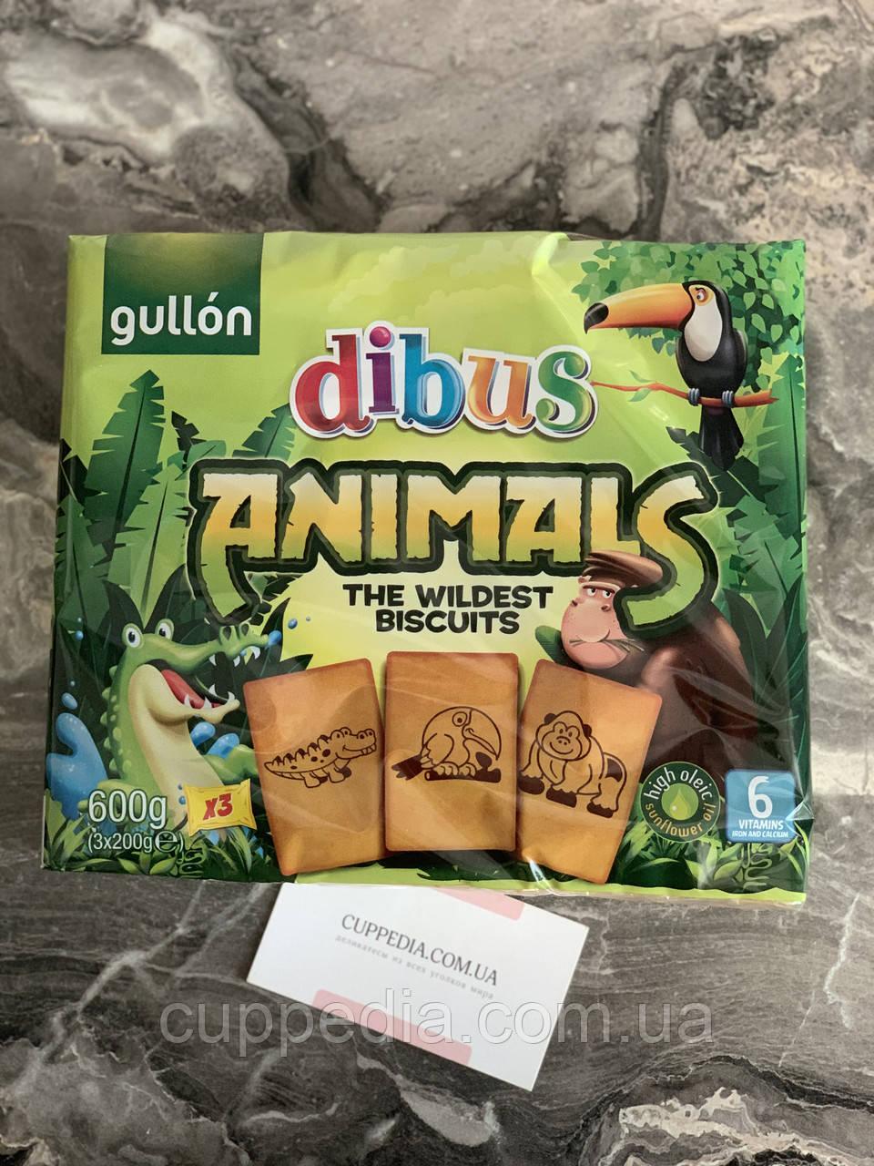 Детское печенье Gullon Animals 600 грм