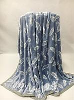Плед Ультрасофт 200х230 голубой, фото 1