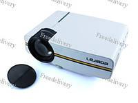 Проектор мультимедийный портативный LCD 50-130 1200лм YG410 MiraScreen