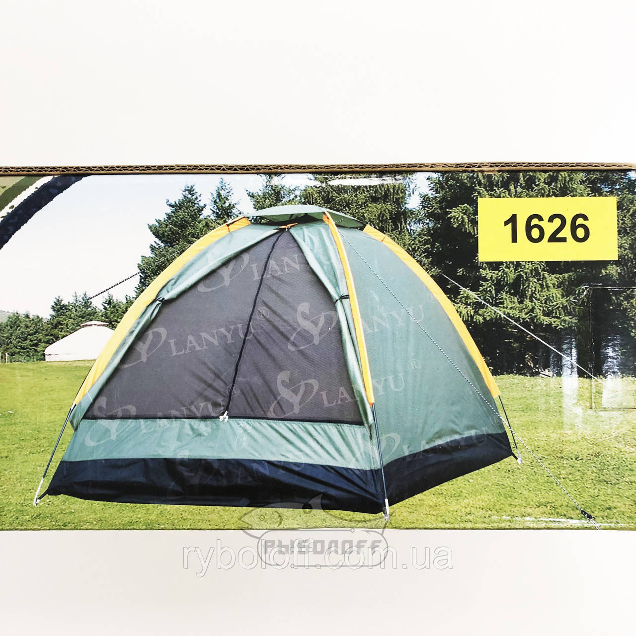 Туристическая 2-х местная палатка Lanyu 1626