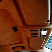 Рыжая алькантара (светло-коричневая) 145х100 см