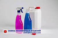 Бутылка  0.75 л .для моющих средств под курковый распылитель