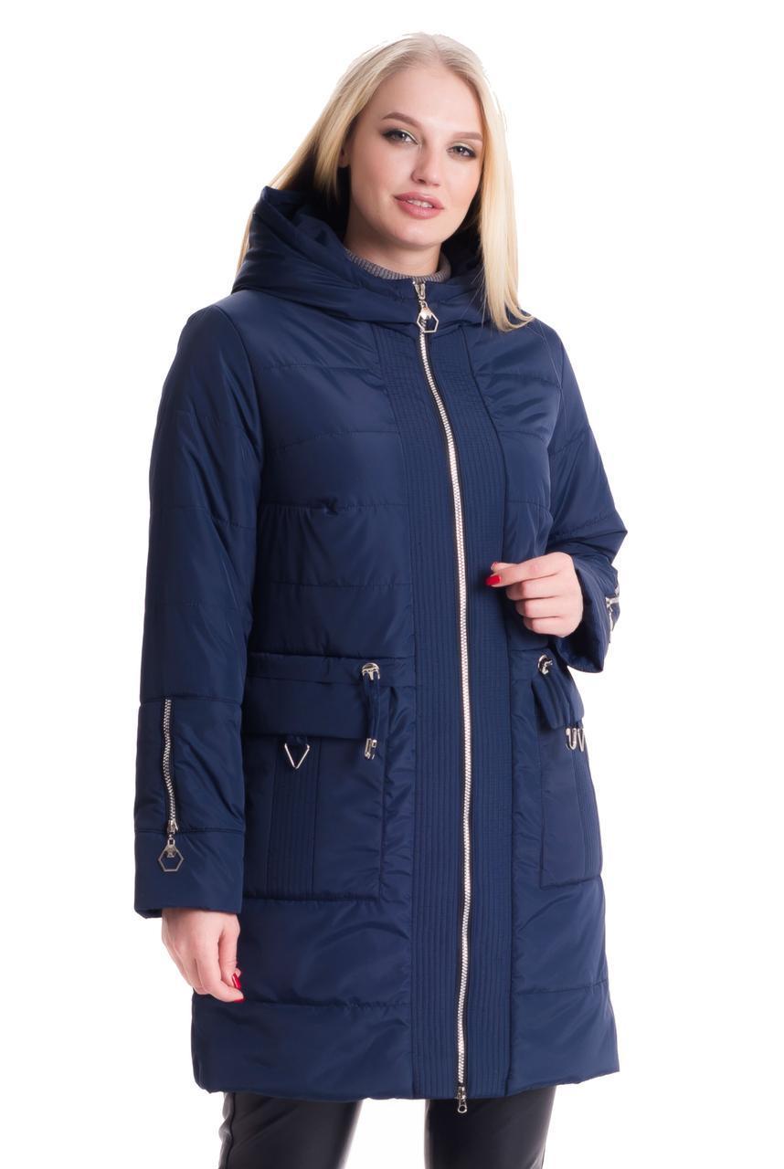 Демисезонная стильная женская куртка, размеры 44 - 60