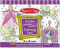Набор раскрасок Принцесса и фея Melissa & Doug (MD4263), фото 1