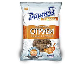 Отруби хрустящие ржаные с гречкой Витьба Fitness 130г из Беларуси