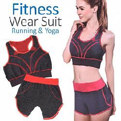 Костюм для йоги, фітнесу та бігу Yoga Wear Suit Slimming Y-13