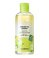 Двухфазное средство для снятия макияжа The Saem Healing Tea Garden Green Tea Oil In Cleansing water