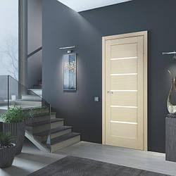 Погонажні комплектуючі до дверних полотен з натурального шпону