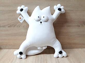 Мягкая игрушка кот Саймона 50 см, ручная работа