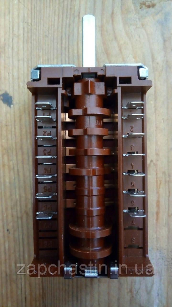 Перемикач електроплити EGO, 0+6 позицій (Німеччина) Nord