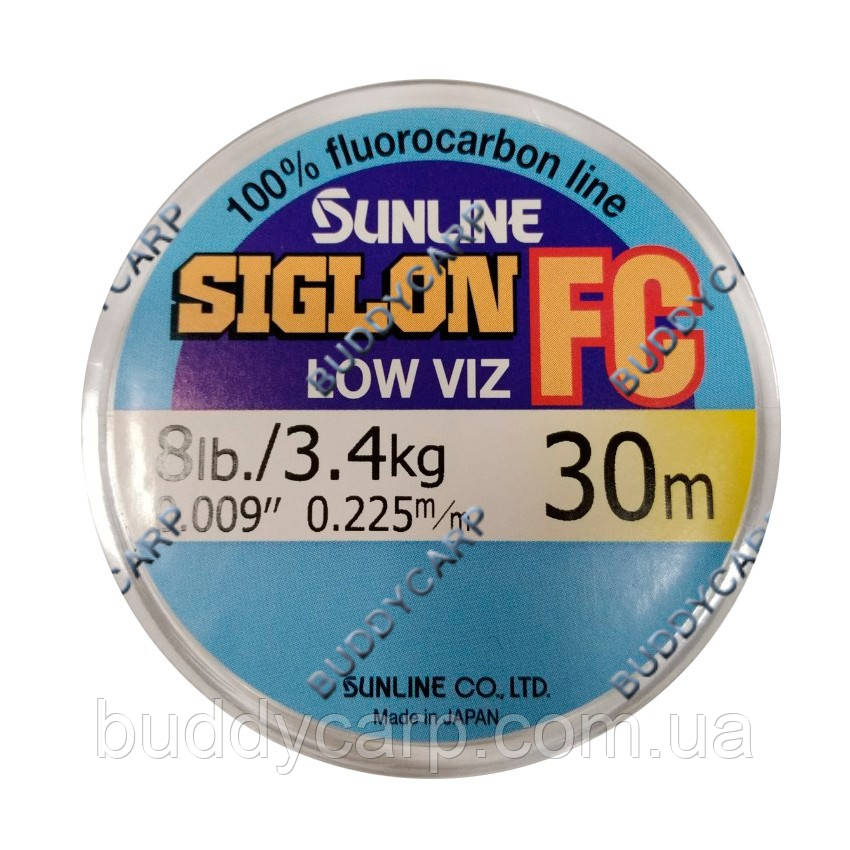 Флюорокарбон Sunline SIG-FC 30м 0.225 мм 3.4 кг