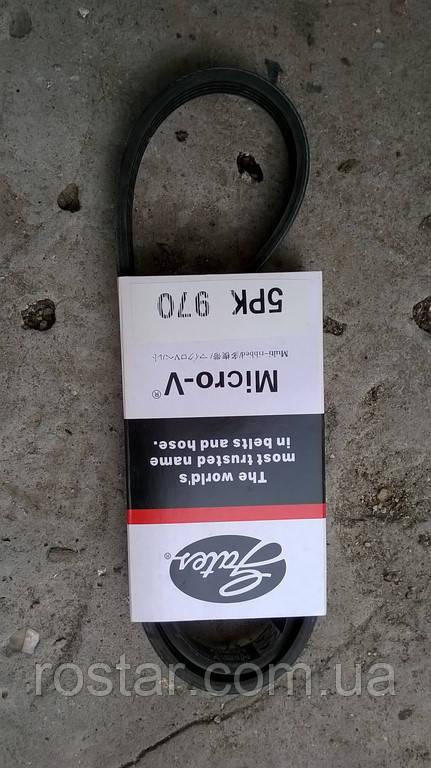 Ремінь генератора Ланос 5РК870 GATES