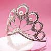 Тиара высокая диадема НАОМИ корона украшения для волос, фото 7