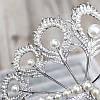 Диадема высокая тиара НАОМИ корона на голову, фото 4