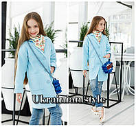 Детское кашемировое пальто для девочки. 4 цвета!, фото 1