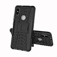Чехол Xiaomi Redmi S2 , бампер ударопрочный, черный