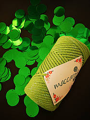 Пайетки сумочные 30 мм, цвет зеленый