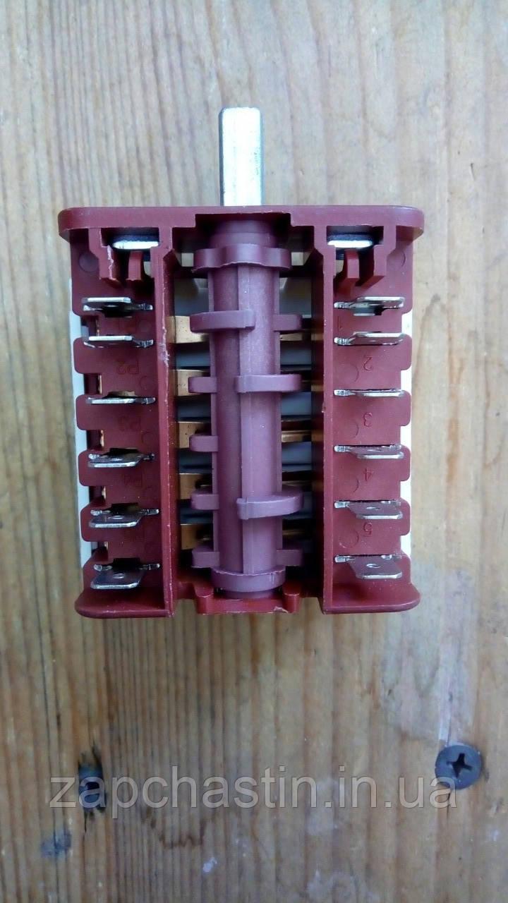 Перемикач електроплити MXT, BC-543, 0+4 позицій (Туреччина)  ***