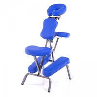 Стул для массажа воротниковой зоны , складной SPIRIT navy blue (темно-синий)  (PU)