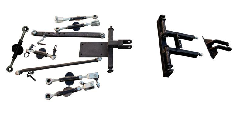 Навесная система на 3 точки к мототрактору Скаут Т-18 (сц 36)   Навісна система на 3 точки до мототрактора (Скаут Т18)