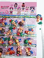 Фигурки кукла ЛОЛ с аксессуарами на планшете