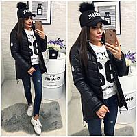 Куртка женская, арт.300, цвет - черный
