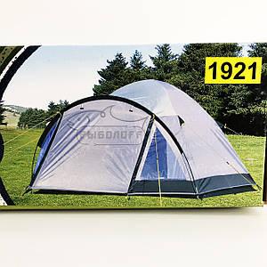 Туристическая 3-х местная палатка + тамбур Lanyu 1921