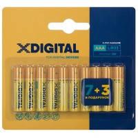 Батарейка X-DIGITAL LR 03 уп. 1x10 шт.