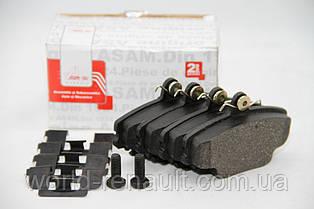 Комплект передних тормозных колодок на Рено Симбол, Клио / ASAM 30094