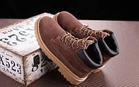 Коричневые ботинки мужские, фото 1