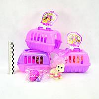 Домашние питомцы Pet Club (1питомец+контейнер+аксессуары) 3вида (№CL2060)