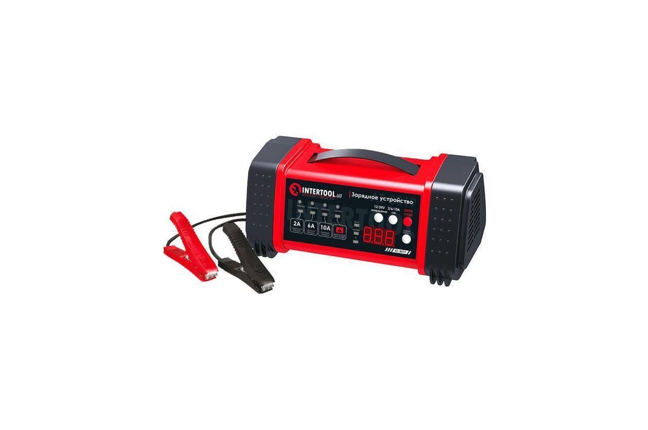 Зарядное устройство Intertool - 12 - 24 В x 2 - 6 - 10 А 1 шт.