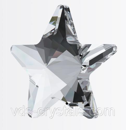 Кристали Swarovski гарячої фіксації (термоклеевие) 2816 Rivoli Star Flatback Crystal F 5 мм
